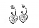 Carina Blomqvist / Lumoava: Hearts (earrings)